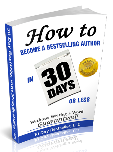 How to become an Amazon #1 Bestselling Author in 30 Days