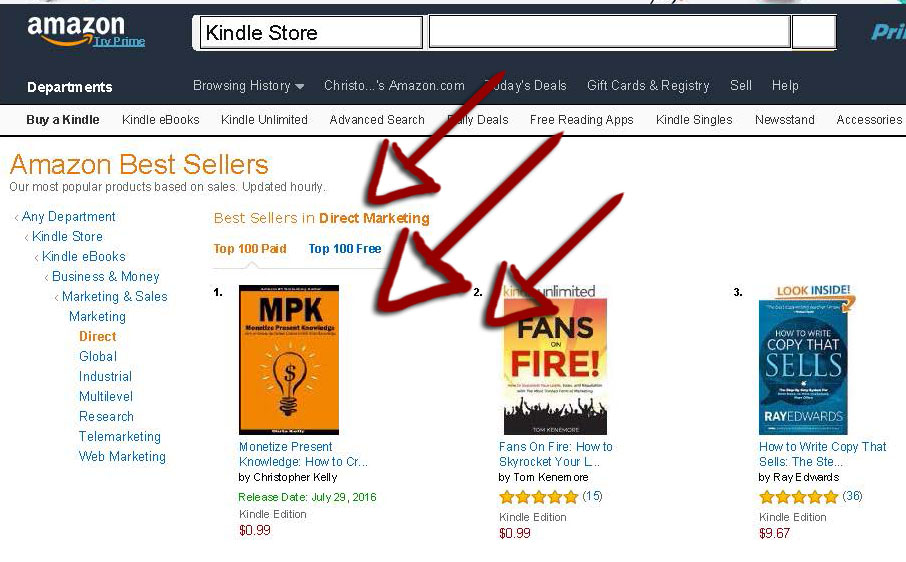 Monetize Present Knowledge is an Amazon #1 Bestseller book!