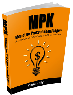 How to Monetize Present Knowlege book